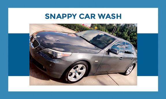 SNAPPY CAR WASH