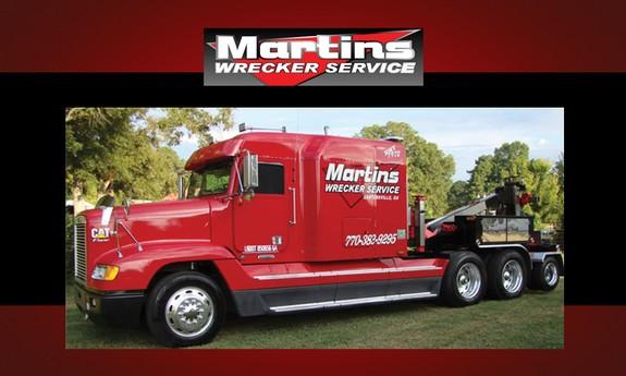 MARTIN'S WRECKER SERVICE