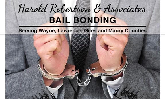 HAROLD ROBERTSON & ASSOCIATES BAIL