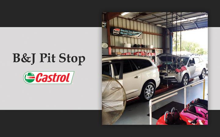 B & J PIT STOP