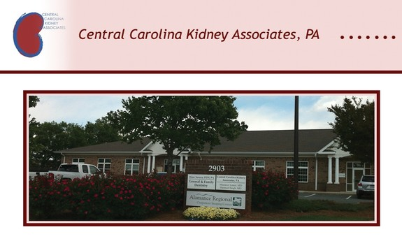 CENTRAL CAROLINA KIDNEY ASSOCIATES - Local PHYSICIANS & SURGEONS in Burlington, NC