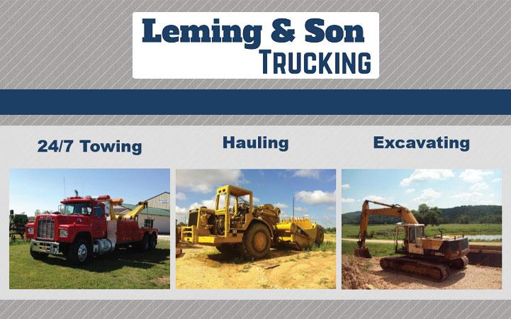 WILLIE LEMING & SON TRUCKING