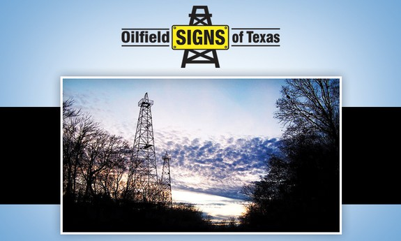 OILFIELD SIGNS OF TEXAS