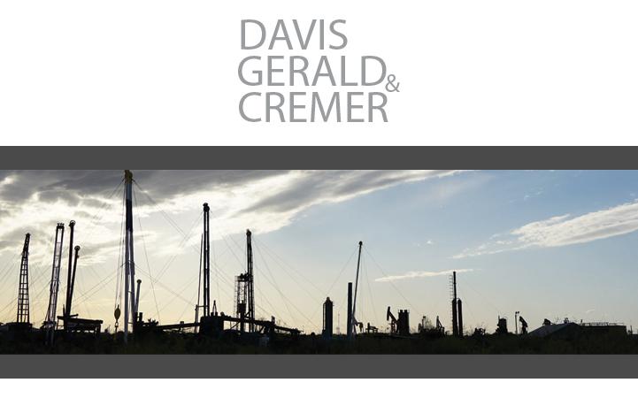 DAVIS, GERALD & CREMER