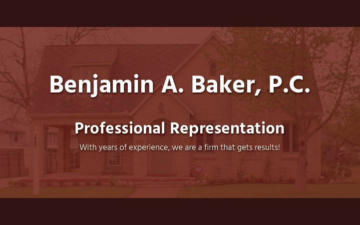 BENJAMIN A. BAKER, P.C.
