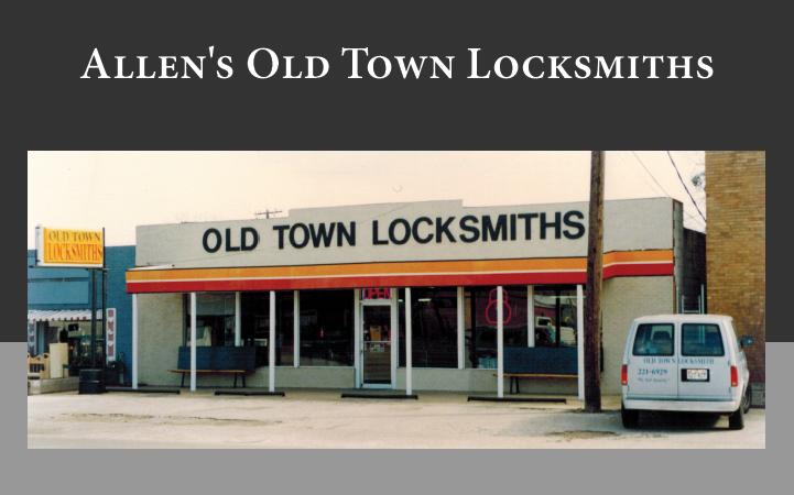 ALLEN'S OLD TOWN LOCKSMITHS