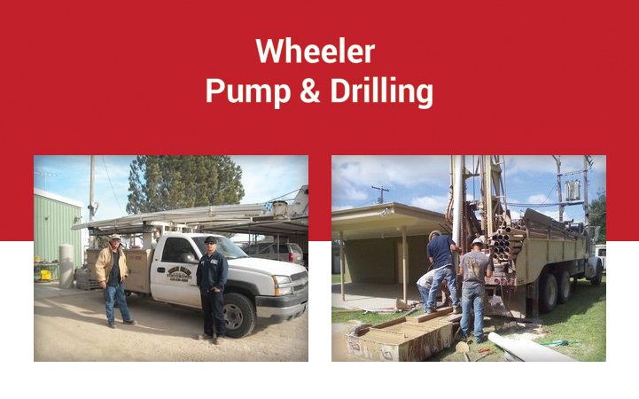 WHEELER PUMP AND DRILLING COMPANY