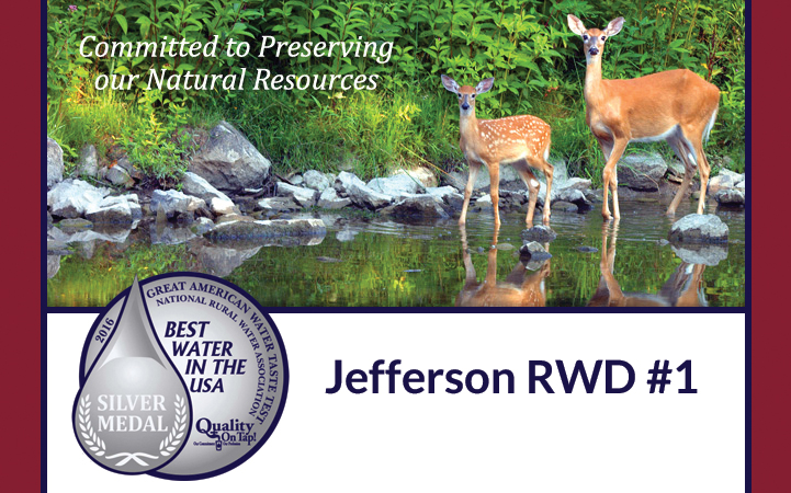 CONSOLIDATED RURAL WATER & SEWER DISTRICT