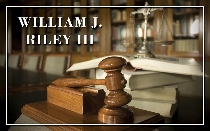 WILLIAM J. RILEY III