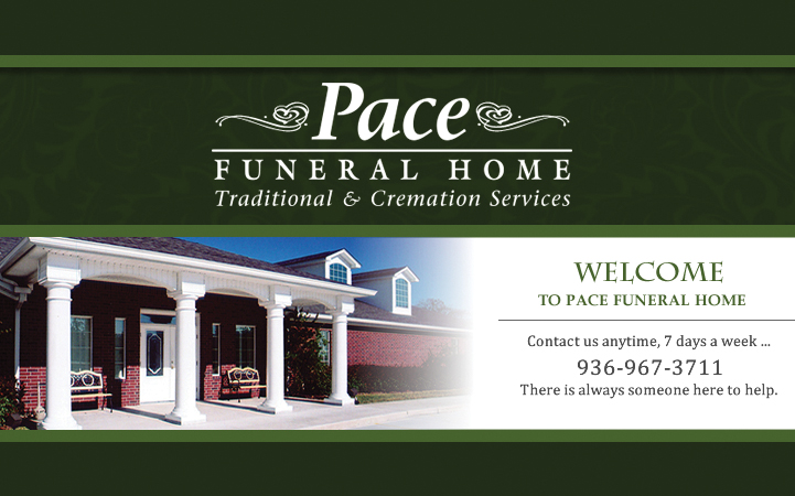 PACE FUNERAL HOMES