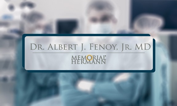 ALBERT J FENOY, JR, MD