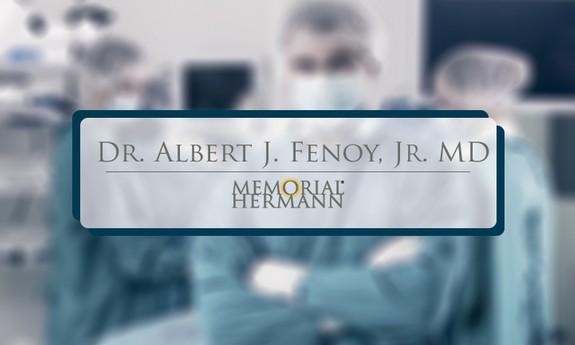 ALBERT J FENOY, JR, MD