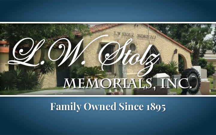 L. W. STOLZ MEMORIALS INCORPORATED
