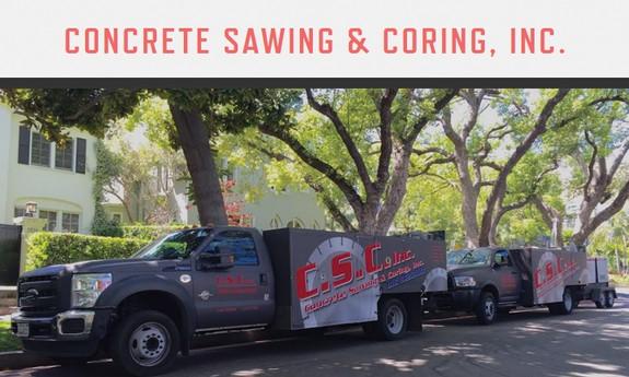 CONCRETE SAWING & CORING, INC.
