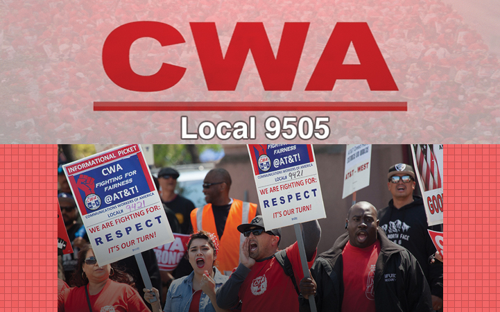COMMUNICATIONS WORKERS OF AMERICA LOCAL 9505