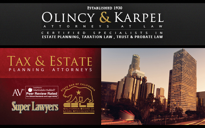 OLINCY & KARPEL ATTORNEYS AT LAW