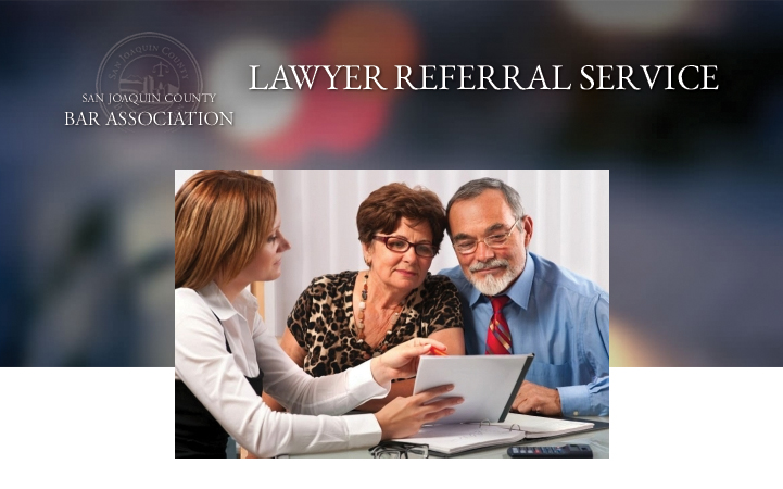 SAN JOAQUIN COUNTY LAWYER REFERRAL SERVICE