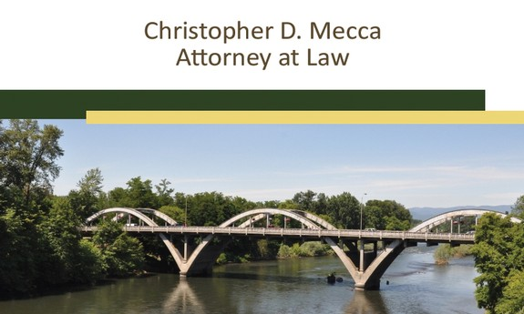 CHRISTOPHER D. MECCA - ATTORNEY AT LAW