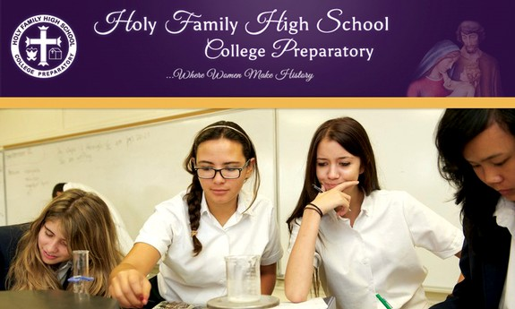 HOLY FAMILY HIGH SCHOOL COLLEGE PREPARATORY