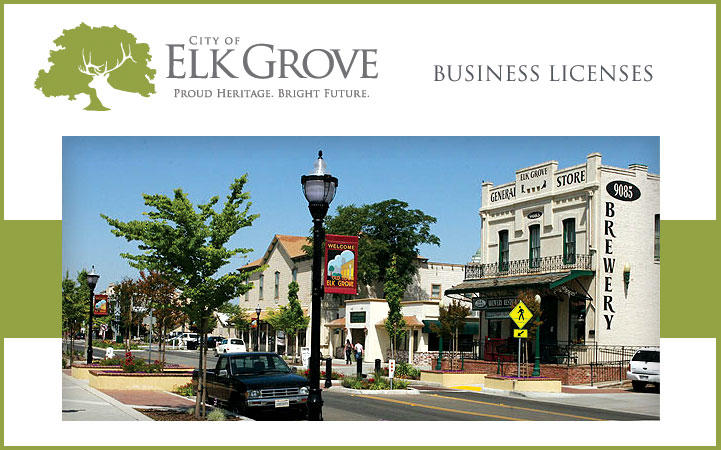 ELK GROVE BUSINESS LICENSES