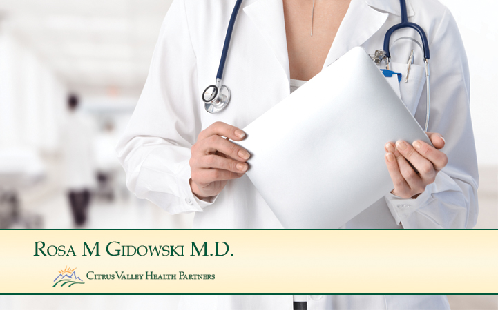 ROSA M. GIDOWSKI, MD