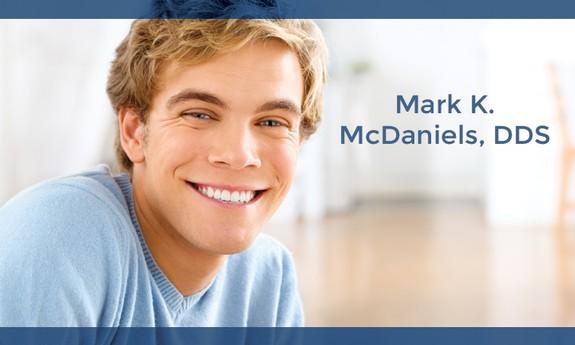 MARK K. MCDANIELS, DDS