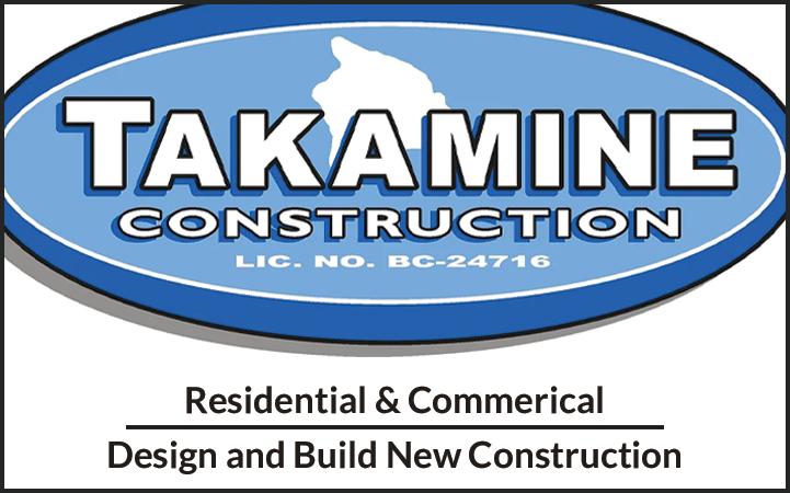 TAKAMINE CONSTRUCTION, INC.