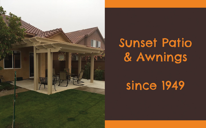 SUNSET PATIO AND AWNINGS
