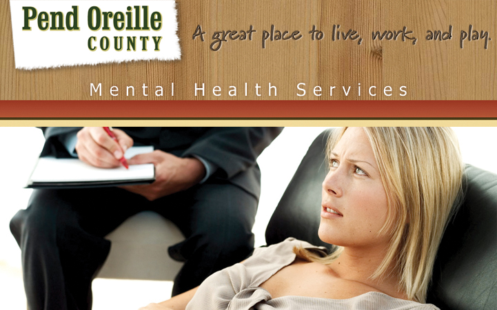 PEND OREILLE COUNTY MENTAL HEALTH