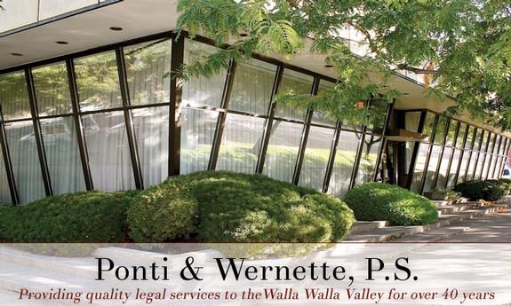MCADAMS, PONTI, WERNETTE & VAN DORN, P.S.