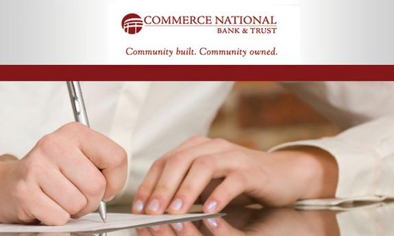 COMMERCE NATIONAL BANK & TRUST