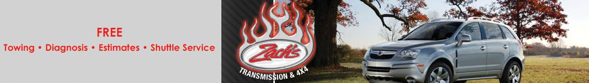 ZACH'S TRANSMISSION & 4X4
