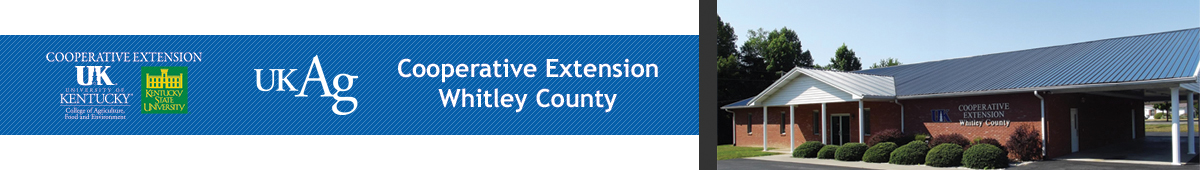 WHITLEY COUNTY COOPERATIVE EXTENSION