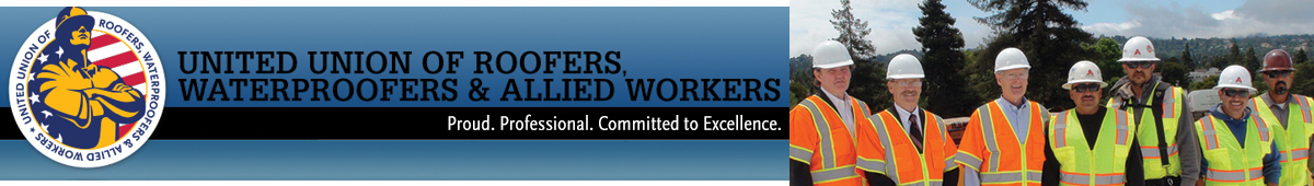 UNITED UNION OF ROOFERS,WATERPROOFERS & ALLIED WRK