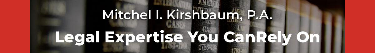 MITCHEL I KIRSHBAUM, P.A.