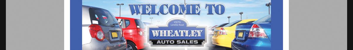 WHEATLEY AUTO SALES
