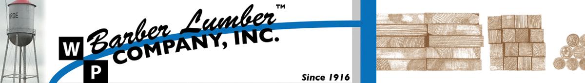 W P BARBER LUMBER COMPANY, INC