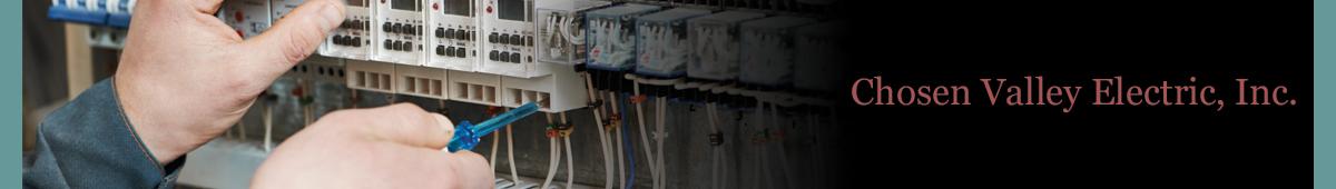CHOSEN VALLEY ELECTRIC INC