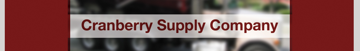 CRANBERRY SUPPLY COMPANY