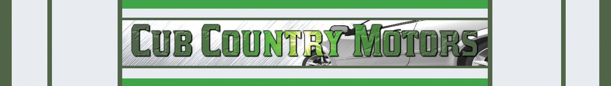 CUB COUNTRY MOTORS
