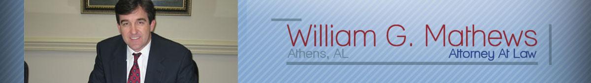WILLIAM G. MATHEWS, ATTORNEY AT LAW