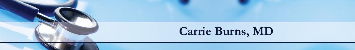CARRIE K. BURNS, MD